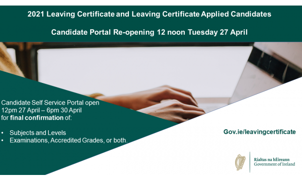 Reminder - LC Candidate Portal Closure Extension (Sat 6pm 1st May)