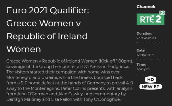 Emily Whelan - Irish Senior Ladies Soccer Team