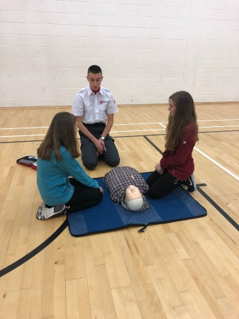 CPR Training This Week - Order of Malta